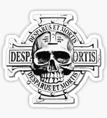 Wh40k Chaos Marines Skull no. 2 Sticker
