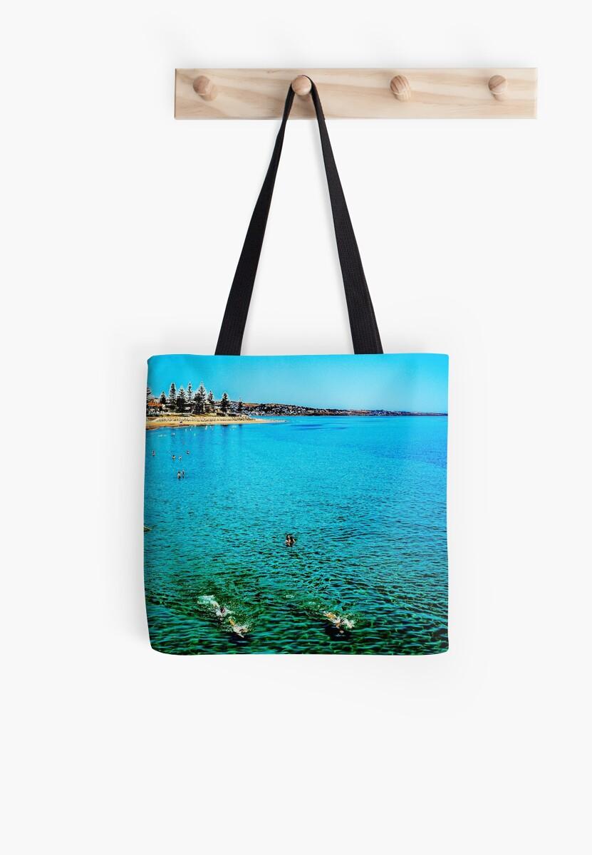 Glenelg Beach, Holdfast Bay, South Australia by JoBling