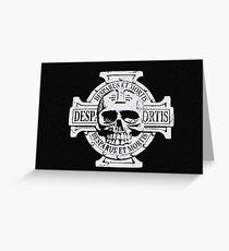 Wh40k Chaos Marines Skull no. 3 Greeting Card