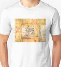 St. Augustine travel quote the world is a book and those who do not travel Unisex T-Shirt