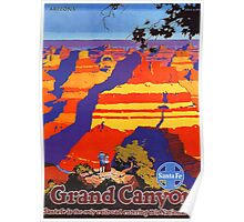 Vintage Travel Poster - Grand Canyon Poster