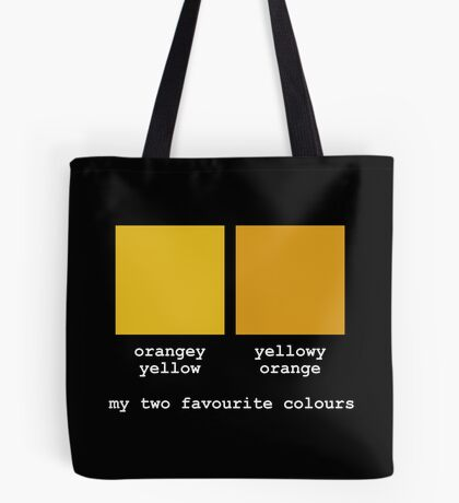 My Two Favourite Colours Tote Bag
