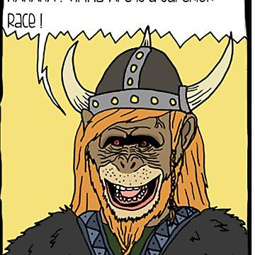 Viking Ape by Kreuzigen
