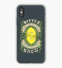 Bitter on the Outside, Sour on the Inside iPhone Case