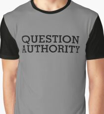 Question Authority Graphic T-Shirt