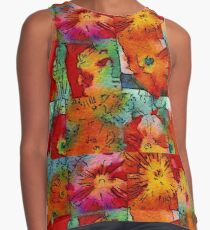 Poppies, Poppies Contrast Tank