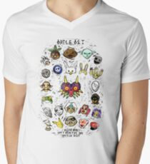 Majora's Masks Men's V-Neck T-Shirt