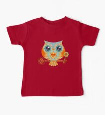 Owl's Summer Love Letters Baby T-Shirt