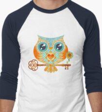 Owl's Summer Love Letters Men's Baseball ¾ T-Shirt