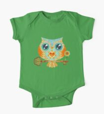 Owl's Summer Love Letters Kids Clothes