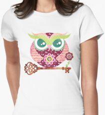 Spring Blossom Owl T-Shirt