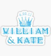 William & Kate Sticker
