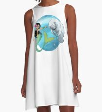 The Mermaid and the Manatee! A-Line Dress
