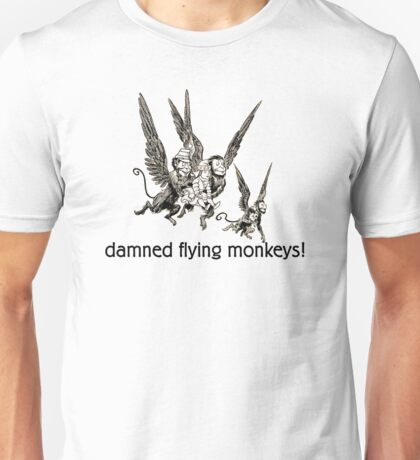 Wizard of Oz damned flying monkeys! T-Shirt