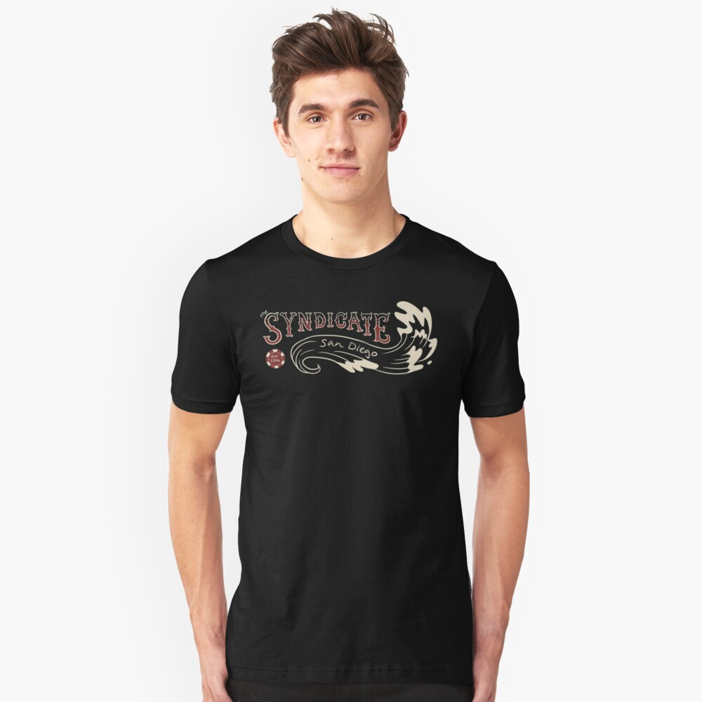 Syndicate Wave Unisex T-Shirt Front