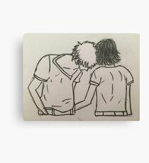 Loving couple  Canvas Print