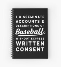Legalese Spiral Notebook