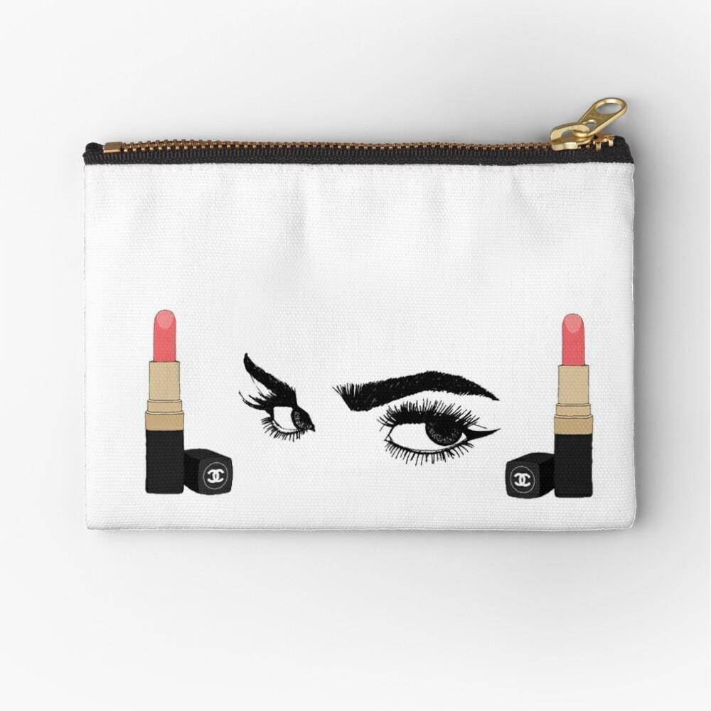 Make-Up-Lippenstift und Augen Täschchen