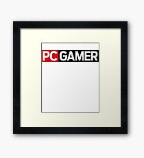 PC Gamer Framed Print