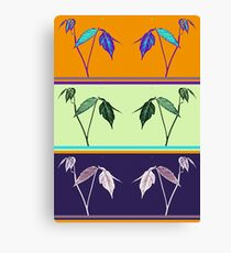 POISON IVY - LEAVES OF 3 LET THEM BE Canvas Print