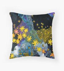 Hanabi #1 - Fireworks Throw Pillow