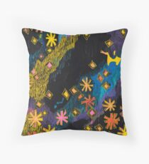 Hanabi #2 - Fireworks Throw Pillow