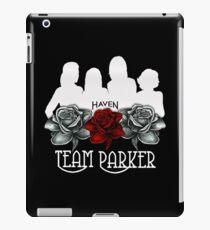 Haven Team Parker Sides Of Audrey White Logo iPad Case/Skin