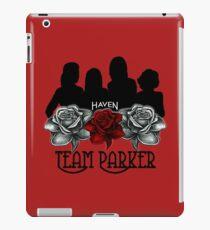 Haven Team Parker Sides Of Audrey Black Logo iPad Case/Skin