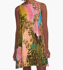 Landscape #11 A-Line Dress