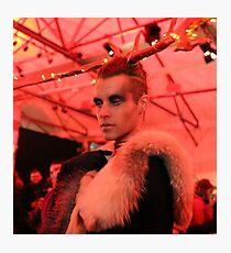 Dark Mofo Winter Feist 2014 Reindeer man 6 Photographic Print