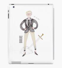Contemporary Brie as a classy liberal feminist iPad Case/Skin
