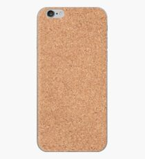 Cork texture iPhone Case