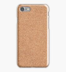 Cork texture iPhone Case/Skin