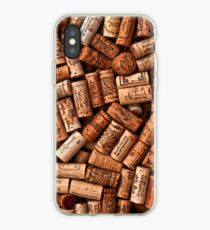 Wine corks textures iPhone-Hülle & Cover