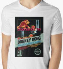 Donkey Kong (NES Cover) Men's V-Neck T-Shirt