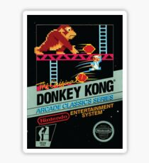Donkey Kong (NES Cover) Sticker