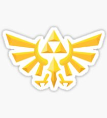(Geometric) Zelda Triforce Sticker