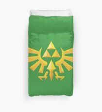 (Geometrisch) Zelda Triforce Bettbezug