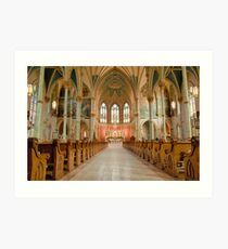 Cathedral of St. John the Baptist Art Print