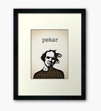 Icons - Harvey Pekar Framed Print