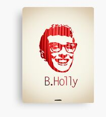 Icons - Buddy Holly Canvas Print