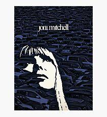 Icons - Joni Mitchell Photographic Print
