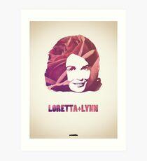 Icons - Loretta Lynn Art Print