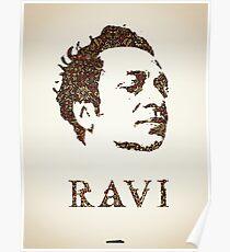 Icons - Ravi Shankar Poster
