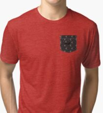 Escape With Tie Fighter Tri-blend T-Shirt