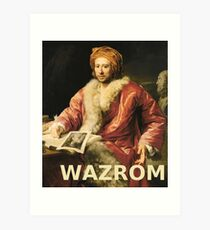 WAZROM! Art Print