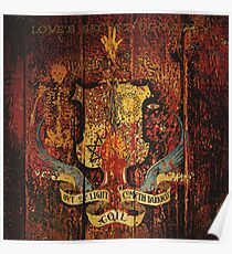 coil - love's secret domain Poster