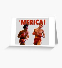 ROCKY - 'MERICA Greeting Card