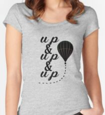 Up & Up Women's Fitted Scoop T-Shirt