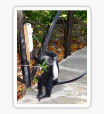 Electrical work - monkey power Sticker